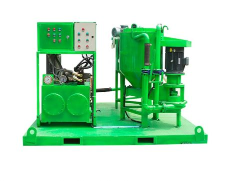 WGP200/300/100PI-E Grout mixing injection plant