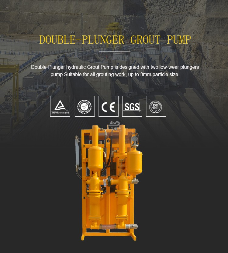 cement mortar grouting pump machine