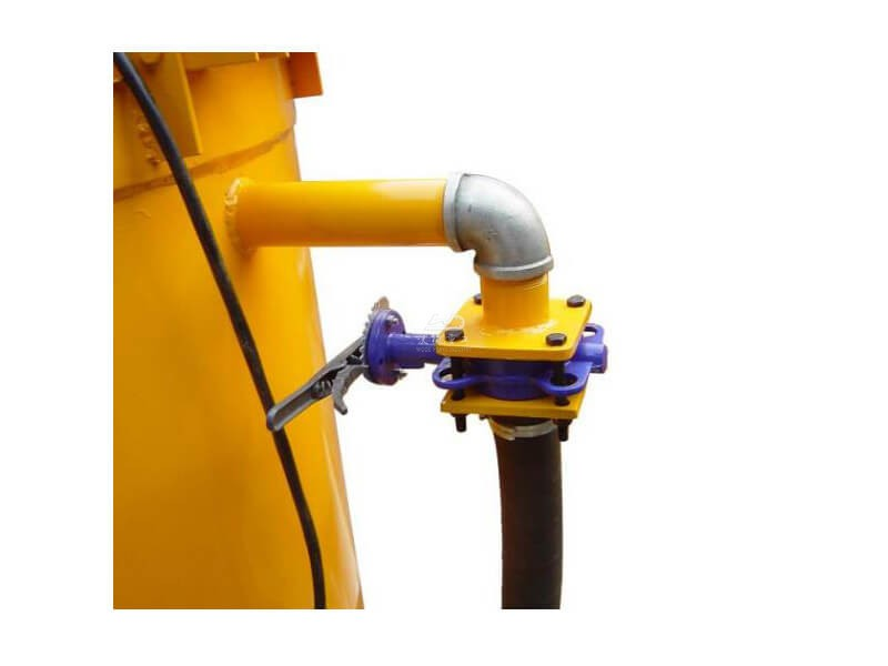 cement mixer and agitator details